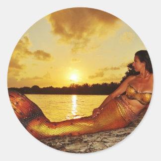 Mermaid Marla Merchandise Classic Round Sticker