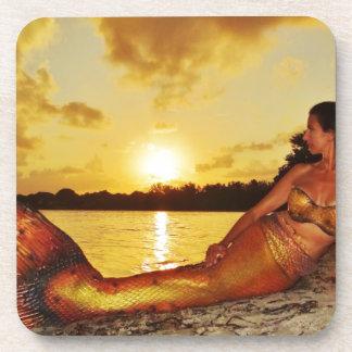 Mermaid Marla Merchandise Drink Coaster
