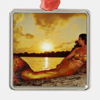 Mermaid Marla Merchandise Metal Ornament