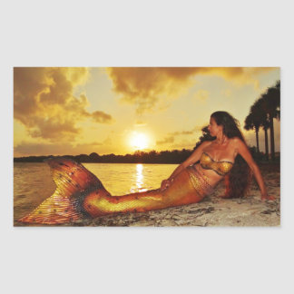 Mermaid Marla Merchandise Rectangular Sticker