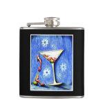 Mermaid Martini Hip Flask