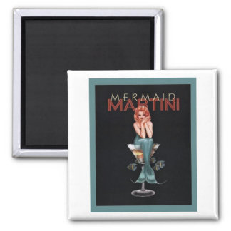 Mermaid Martini Magnet