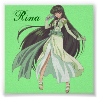 Mermaid Melody Rina Poster