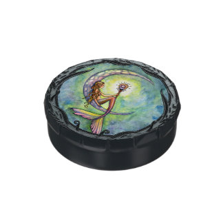 Mermaid Moon Fantasy Art by Molly Harrison Candy Tins