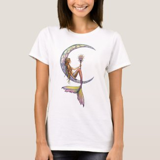 Mermaid Moon Fantasy Art Tank Top