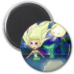 Mermaid Moon - Magnet