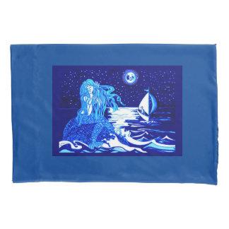 Mermaid moon pillowcase