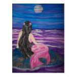 Mermaid Moon Postcard