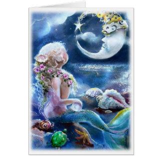 Mermaid & MoonCard Cards
