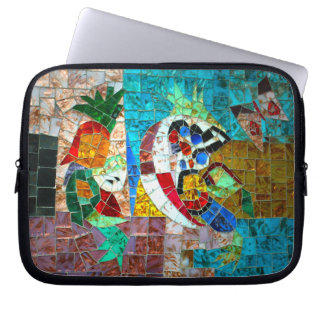 Mermaid Mosaic - Murano Italy Laptop Sleeve