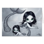 """""""Mermaid Mother and Child"""" Greeting Card"""