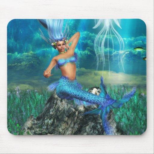 Mermaid Mouse Pad