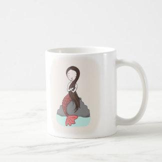 Mermaid Mug Cute Mermaid illustration Mug for Her