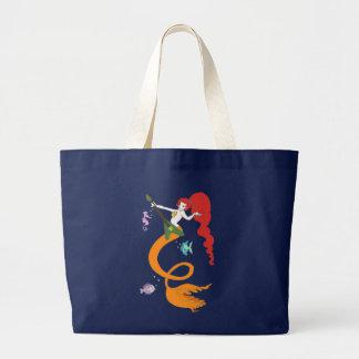 Mermaid Music Canvas Bags