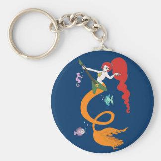 Mermaid Music Keychain