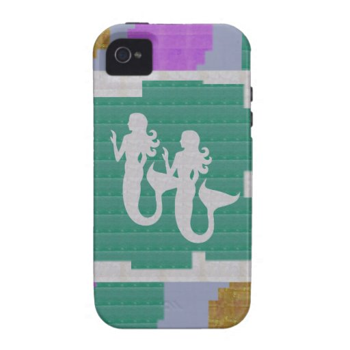 MERMAID Nature Fish Women Strange Creature GIFTS Case For The iPhone 4