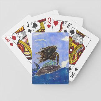 Mermaid & Ocean Playing Cards
