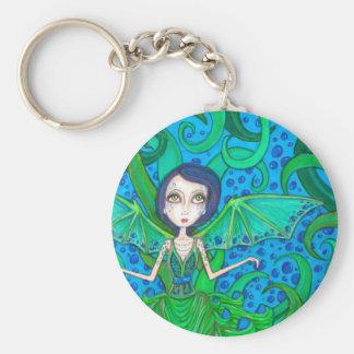 Mermaid octo key chain