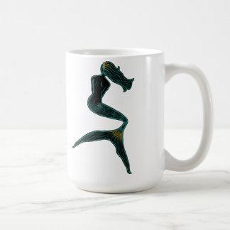 Mermaid of the Moon Classic White Coffee Mug