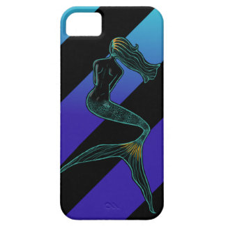 Mermaid of the Moon (Sea Stripes) iPhone SE/5/5s Case