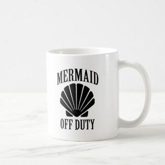 Mermaid Off Duty funny saying mug