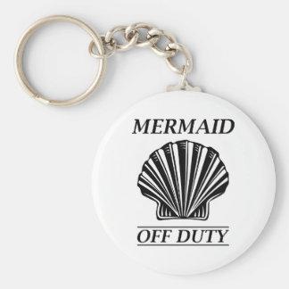 Mermaid Off Duty Keychain