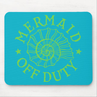 Mermaid Off Duty Mouse Pad