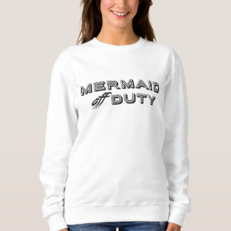 mermaid Off duty sweatshirt