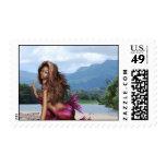 Mermaid on a Sandbar Stamps