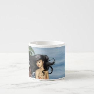 Mermaid on Beach Specialty Mug Espresso Mugs