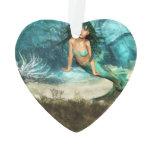 Mermaid on Ocean Floor Ornament