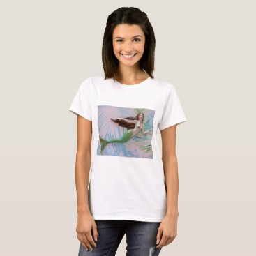 Mermaid, original art, ocean,mermaids,beach T-Shirt