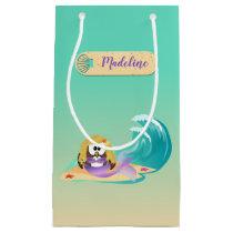 mermaid owl - gift bag