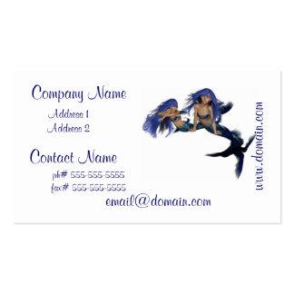 Mermaid Pair Business Cards