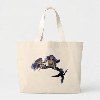 Mermaid Pair Canvas Bag