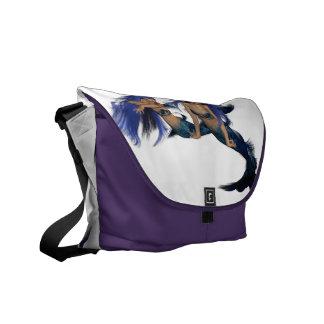 Mermaid Pair Messenger Bag