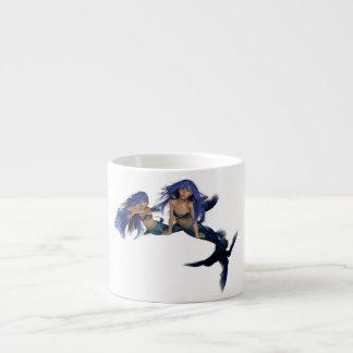 Mermaid Pair Specialty Mug Espresso Mugs