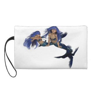 Mermaid Pair Wristlet