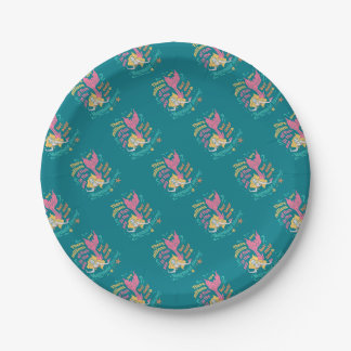Mermaid Paper Plate