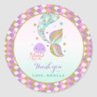 Mermaid Party Favor Tag Under The Sea Favor Tag