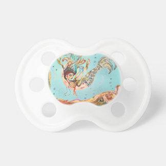 Mermaid Performs Pacifier
