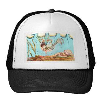 Mermaid Performs Trucker Hat
