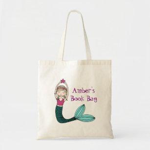 Mermaid Personalised Book Bag