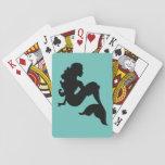 "Mermaid Playing cards<br><div class=""desc"">cute</div>"