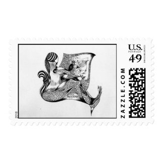 """Mermaid Possibilities"" Stamp"