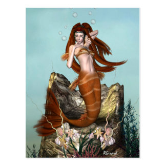 Mermaid Postcard