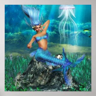 Mermaid Poster Print