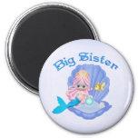 Mermaid Princess Big Sister Magnet