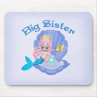 Mermaid Princess Big Sister Mouse Pad