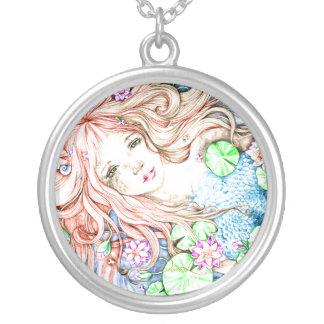 Mermaid Princess Watercolor Jewelry